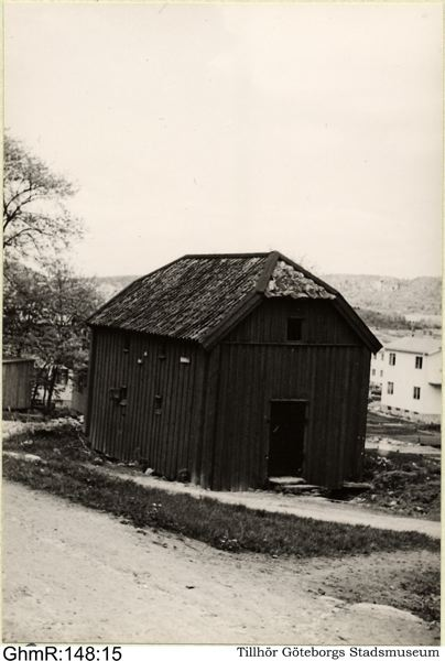 Spannmålsmagasinet vid Fräntorp år 1937, det var då utdömt.