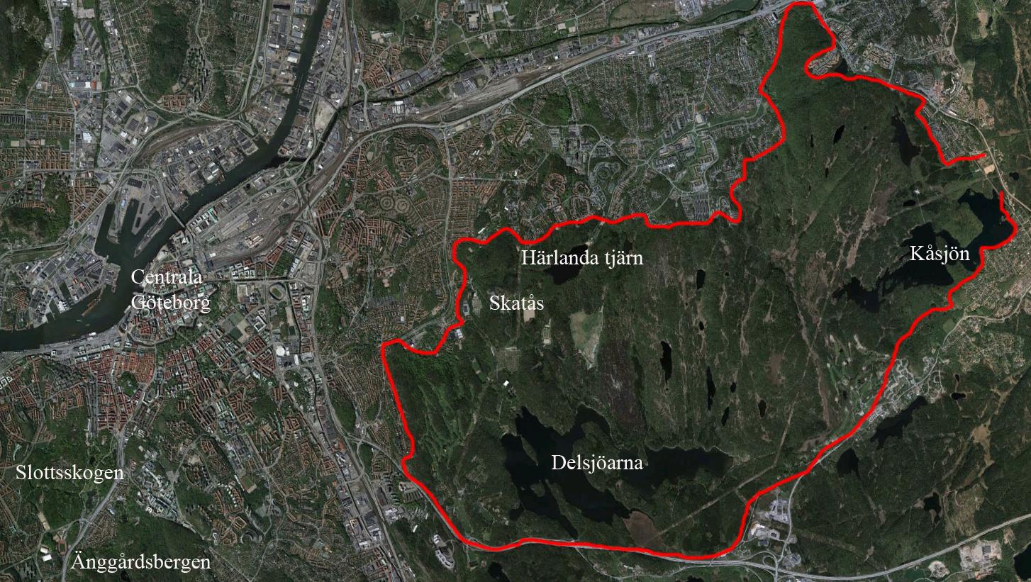 karta delsjön göteborg Var ligger Delsjöområdet? | Delsjöområdets historia karta delsjön göteborg