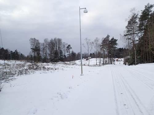 Utmed Lindbackevägen, gamla Öjersjövägen 2013.