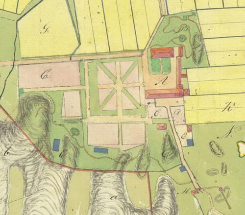 Den äldsta kartan över Stora Torp är från 1815, men många av byggnaderna var de samma som vid försäljningen 1783.