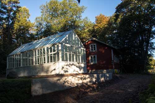 Bengtstorpet har fått ett växthus!
