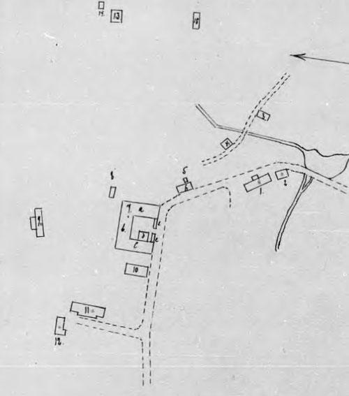 Kärralunds gård 1916. Källa: Brandförsäkringsverket.