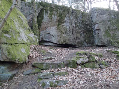 Området är idag lika imponerande som när Stenström besökte platsen för 100 år sedan.