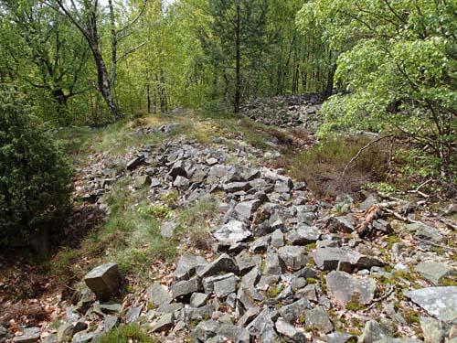 Spåren efter stenhuggarna finns överallt på Valen.
