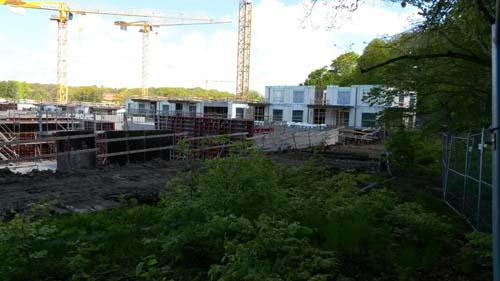 En andra våning har byggts på delar av HSB:s hus. Foto: Per Hallén 2015