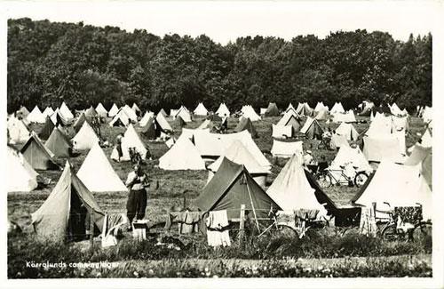 Kärralunds camping 1952