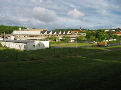 Synvillan sedd från Stora Torps kulle. Foto: Per Hallén 2005.