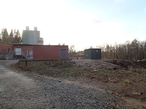 Vattenverket, sett från norr. Foto: Per Hallén 2014