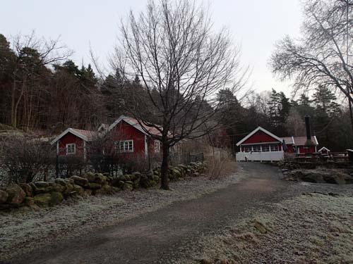 Bertilssons stuga är stängd från mitten av månaden hela vägen fram till jul, där var alltså lugnt och stilla. Foto: Per Hallén 2014