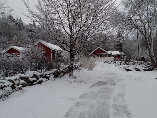 Delsjökärr och Bertilssons stuga. Foto: Per Hallén 2014