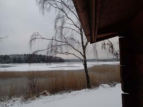 Vy över Lilla Delsjön. Foto: Per Hallén 2014