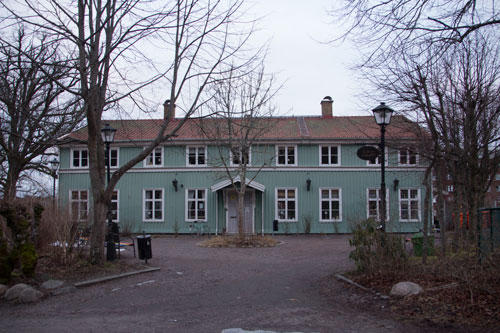 Kålltorps Övergård uppfördes under 1700-talet. Övervåningen kom till under början av 1800-talet. Foto: Per Hallén 2015