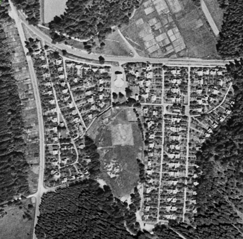 Delsjökolonien år 1960.