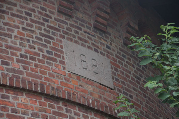 Vattenreservoaren uppfördes 1881. Foto: Per Hallén 2015