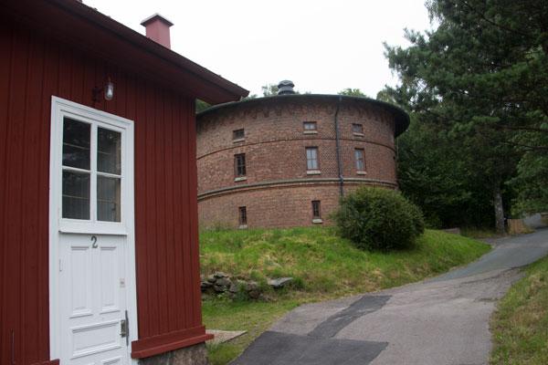 Vattenreservoaren i Kallebäck. Foto: Per Hallén 2015