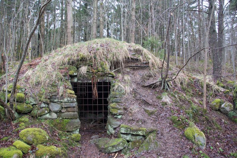 Korpås jordkällare. Foto: Per Hallén 2016