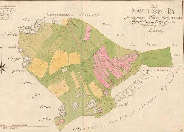Kålltorp 1780