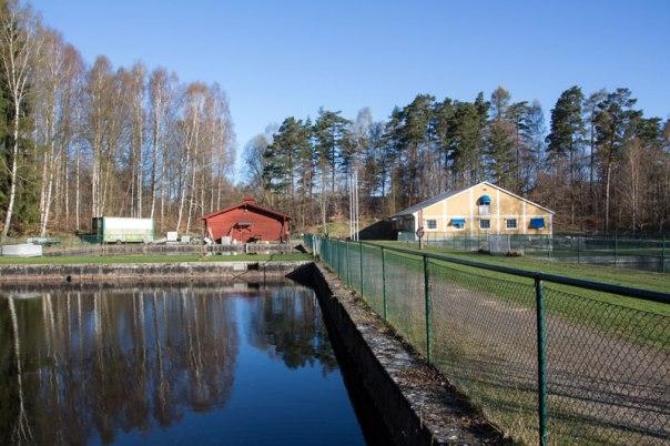 Sjölyckans vattenverk. Foto: Per Hallén 2016