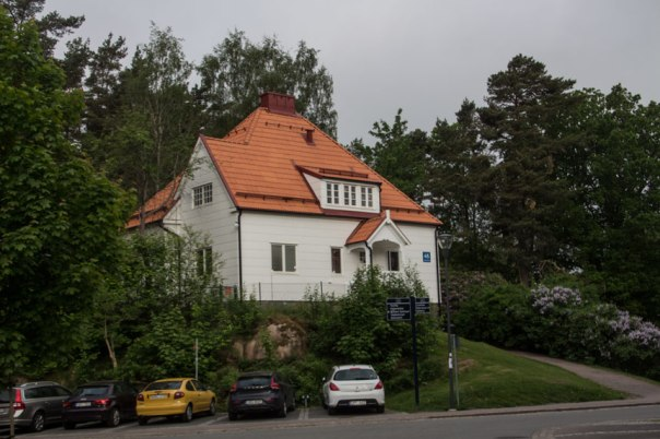 Sysslomansbostaden. Foto: Per Hallén 2016.