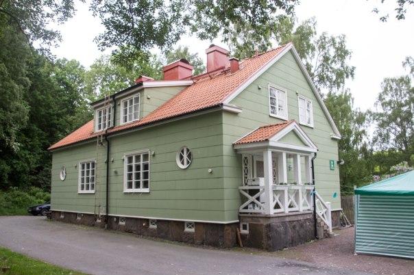 Gröna villan. Foto: Per Hallén 2016.