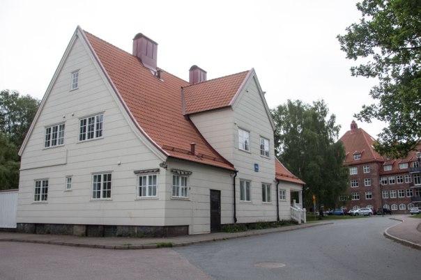 Portvaktsstugan. Foto: Per Hallén 2016.