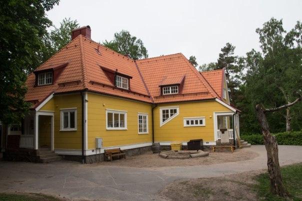 Bostad för överläkaren, Gula villan. Foto: Per Hallén 2016.