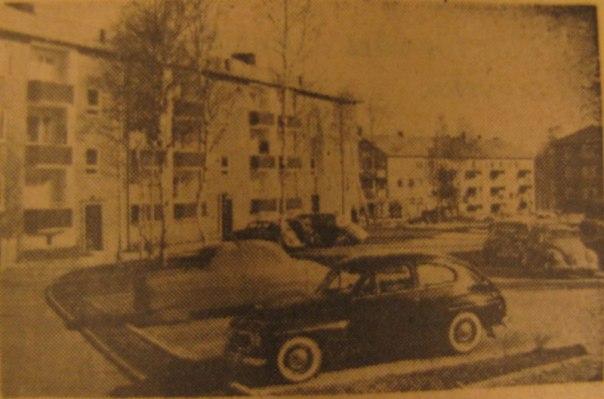 Träringen, bild ur Göteborgs Posten 14 mars 1957.