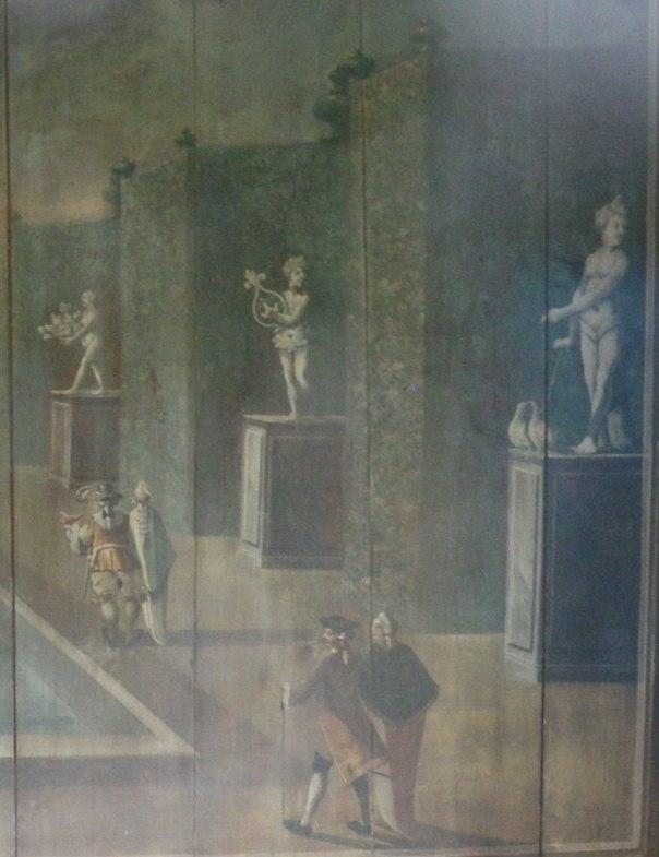 Detalj från Kärralunds lusthus. Foto: Per Hallén