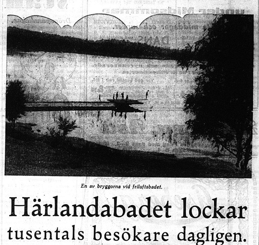 Ur Göteborgs-tidningen 23 juni 1934