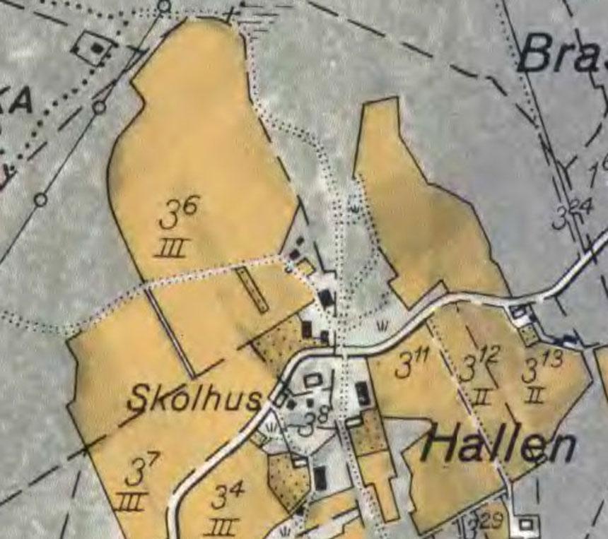 Gården Hallen 1935