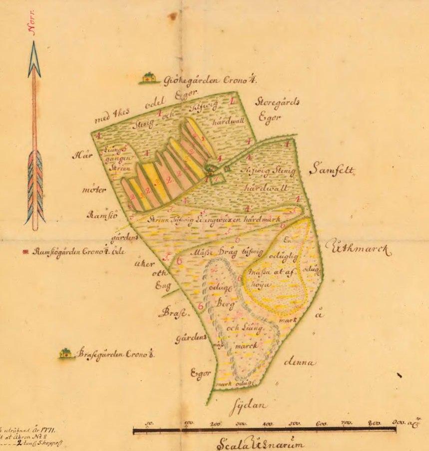 Mölnlyckegården 1733, 14-PAR-34