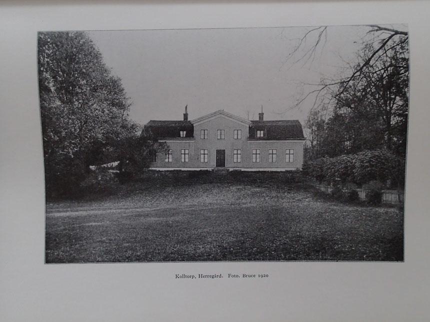 Den som slår upp Stenströms bok Örgryte genom tiderna och tittar på bilden mellan sidorna 78 och 79 ser denna byggnad - alltså Övergården.