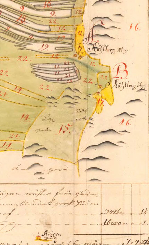 Geometrisk karta 1701 ur