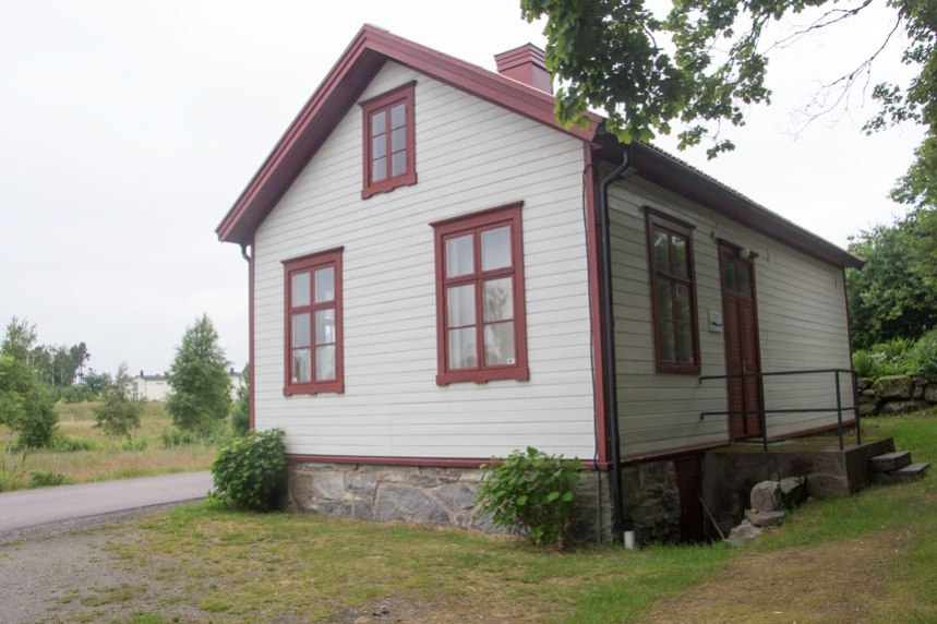 Öjersjö skola. Foto: Per Hallén 2016.