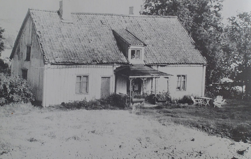 Partille Östergården år 1960. Foto ur: