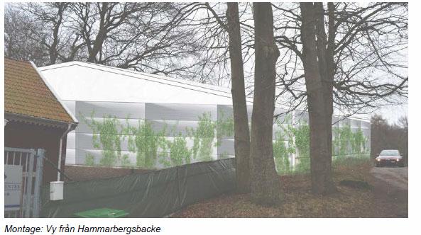 Den nya byggnaden kan inte med bästa vilja anses kunna ersätta de värden som växthusen tillförde området.