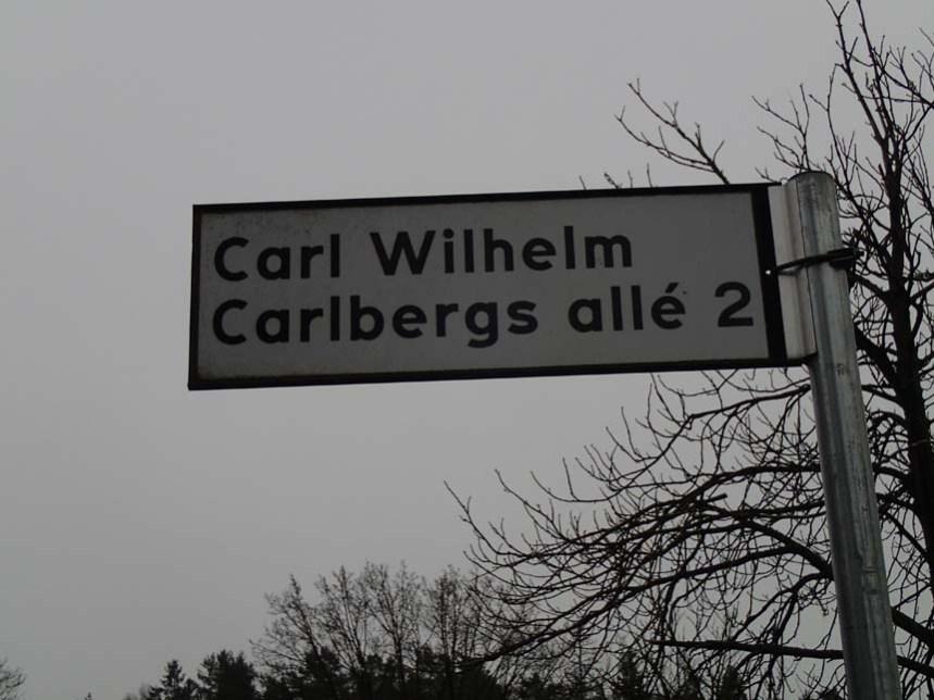 Carl Wilhelm Carlberg har satt sina spår i området. Foto: Per Hallén 2016.