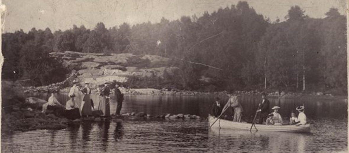 Delsjöområdets historia